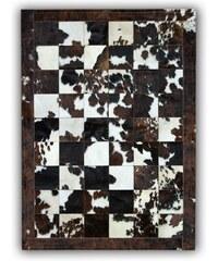 Koberec z pravé kůže Natural Normand, 140x200 cm