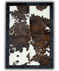 Koberec z pravé kůže Natural Cow, 140x200 cm