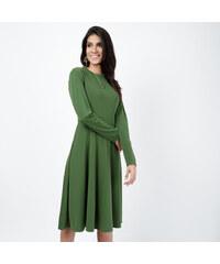 Lesara Langärmeliges Kleid in X-Linie - S