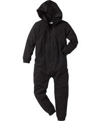bpc bonprix collection Combinaison sweat à capuche noir manches longues enfant - bonprix