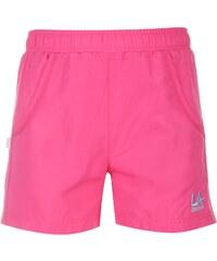 Kraťasy dětské LA Gear Woven Fuchsia Pink