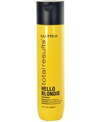 Matrix Total Results Hello Blondie Chamomile Shampoo 300ml Šampon na poškozené, barvené vlasy W Pro blond vlasy
