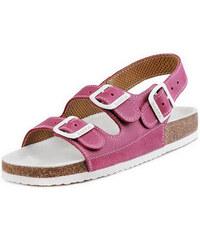 Barea Pánské růžovobílé sandály 046462