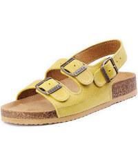 Barea Dámské žluté sandály 010462