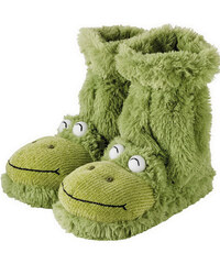 Aroma Home Dámské ponožkové bačkory Žába
