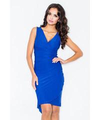 Figl Šaty M053 modrá