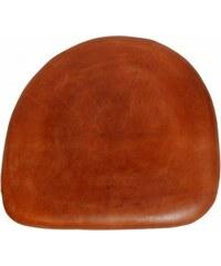 Industrial style, Kožený vankúš na sedadlo pre jedálenskú stoličku 36x36cm (809)