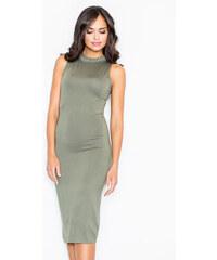 Figl Zelené šaty M263