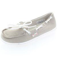 Dude Shoes Dámské béžově-šedé mokasíny Moka