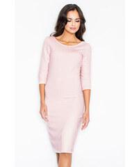Figl Růžové šaty M301