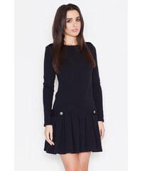 Katrus Černé šaty K267