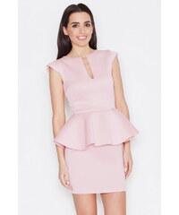 Katrus Růžové šaty K273