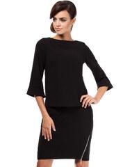Černá sukně MOE 191