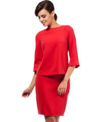 Červená sukně MOE 191