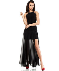 Černé šaty MOE 199