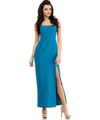 Tyrkysové šaty MOE 202
