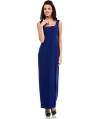 Modré šaty MOE 202