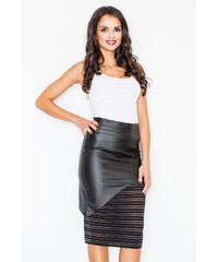 Figl Černá sukně M428