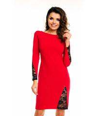 Awama Červené šaty A128