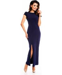 Awama Tmavě modré šaty A136