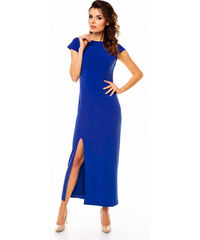Awama Modré šaty A136