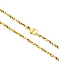 Goldstore Zlatý jednoduchý pevný řetízek