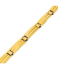 Goldstore Masivní zlatý náramek lesklé žluté zlato