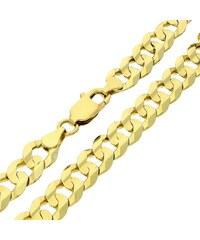 Goldstore Pánský masivní lesklý zlatý náramek