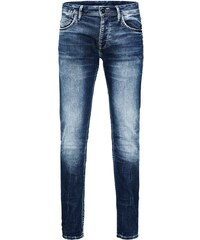 JACK & JONES Slim Fit Jeans Tim Leon Indigo Strick