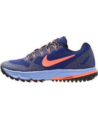Nike Performance AIR ZOOM WILDHORSE 3 Laufschuh Trail deep royal blue/hyper orange/chalk blue