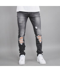 Sixth June Destroyed Jeans black