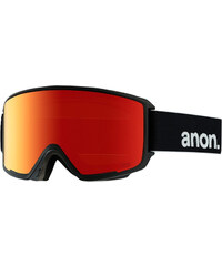 Anon M3 Schneebrillen Goggle black/ red solex