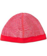 C&A Baby-Mütze in weiß / Rot