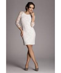 FIGL Dámské šaty M076 ecru