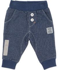 Pinokio Chlapecké kalhoty s knoflíčky - modré