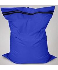 Sedací polštář Oskar s vnitřním vakem modrý polyester