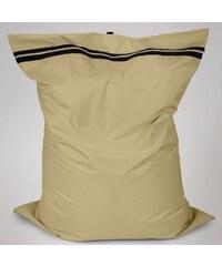 Sedací polštář Oskar s vnitřním vakem khaki polyester