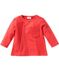 bpc bonprix collection Sweat-shirt bébé en coton bio, T. 56/62-104/110 rouge enfant - bonprix