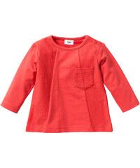 bpc bonprix collection Sweat-shirt bébé en coton bio, T. 56/62-104/110 rouge enfant - bonprix