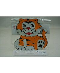 Lamps Pěnová dekorace Tygr 25cm x 24cm