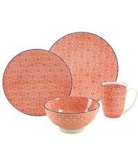 Geschirr-Serie Steinzeug Mediterran CreaTable rosa