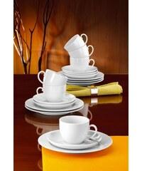 Seltmann Weiden Kaffeeservice Porzellan 18 Teile RONDO SELTMANN WEIDEN weiß