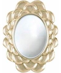 HOME AFFAIRE Spiegel Silver petals 79/100 cm silberfarben