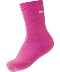 Devold Dívčí vlněné ponožky, 2 páry - růžové