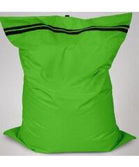 Sedací polštář Oskar s vnitřním vakem zelený polyester