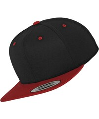 Flexfit Classic 2-Tone Snapback black/red