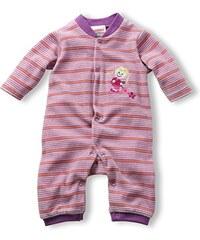 Schnizler Baby - Mädchen Schlafstrampler Schlafanzug Nicki Blumenmädchen