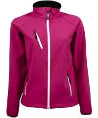 Dámská bunda Softshell Performance - Růžová S