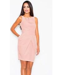 Šaty Figl 243, růžová