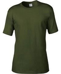 Tričko Organic - Vojenská zelená S